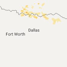 Regional Hail Map for Dallas, TX - Sunday, July 2, 2017