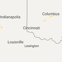 Regional Hail Map for Cincinnati, OH - Thursday, July 13, 2017