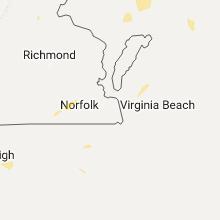 Regional Hail Map for Virginia Beach, VA - Friday, July 14, 2017