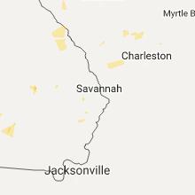 Regional Hail Map for Savannah, GA - Saturday, July 15, 2017