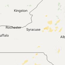Regional Hail Map for Syracuse, NY - Monday, July 17, 2017