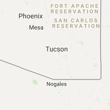 Hail Map for tucson-az 2017-07-20