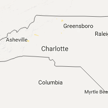 Hail Map for charlotte-nc 2017-07-22