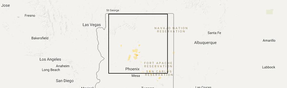 Interactive Hail Maps Hail Map for Flagstaff AZ