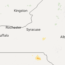 Regional Hail Map for Syracuse, NY - Monday, July 24, 2017