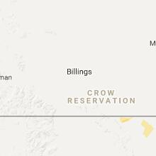 Regional Hail Map for Billings, MT - Thursday, July 27, 2017