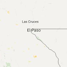 Hail Map for el-paso-tx 2017-07-28