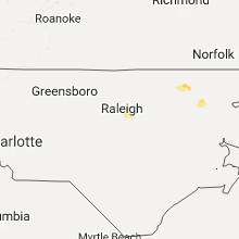 Hail Map for raleigh-nc 2017-07-28