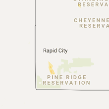 Hail Map for rapid-city-sd 2017-07-28