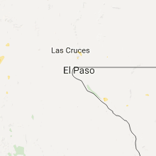 Hail Map for el-paso-tx 2017-07-29