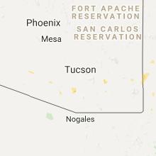 Hail Map for tucson-az 2017-07-29
