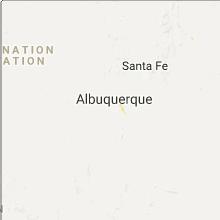 Hail Map for albuquerque-nm 2017-07-30