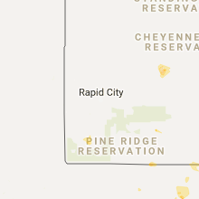 Hail Map for rapid-city-sd 2017-07-30
