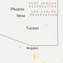 Hail Map for tucson-az 2017-07-31