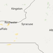 Regional Hail Map for Syracuse, NY - Tuesday, August 1, 2017