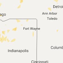 Hail Map for fort-wayne-in 2017-08-03