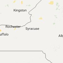 Regional Hail Map for Syracuse, NY - Thursday, August 3, 2017