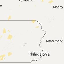 Regional Hail Map for Scranton, PA - Friday, August 4, 2017