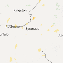 Regional Hail Map for Syracuse, NY - Friday, August 4, 2017