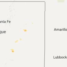 Hail Map for tucumcari-nm 2017-08-04