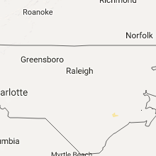 Hail Map for raleigh-nc 2017-08-05