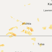 Hail Map for wichita-ks 2017-08-05