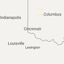 Regional Hail Map for Cincinnati, OH - Friday, August 11, 2017