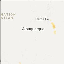 Hail Map for albuquerque-nm 2017-08-12