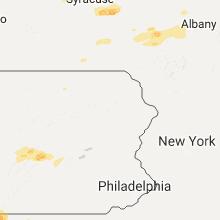 Regional Hail Map for Scranton, PA - Saturday, August 12, 2017