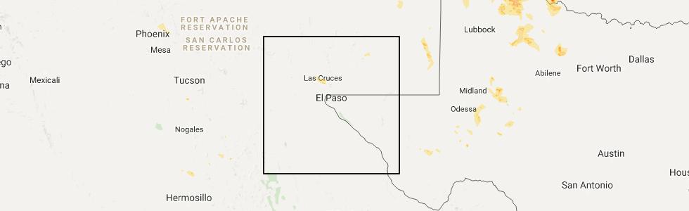 Interactive Hail Maps Hail Map for Las Cruces NM