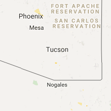 Hail Map for tucson-az 2017-08-13