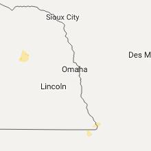 Regional Hail Map for Omaha, NE - Monday, August 14, 2017