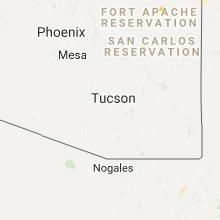 Hail Map for tucson-az 2017-08-14