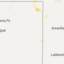 Hail Map for tucumcari-nm 2017-08-15