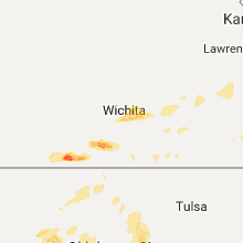 Hail Map for wichita-ks 2017-08-16