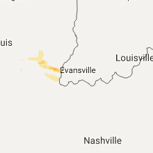 Regional Hail Map for Evansville, IN - Friday, August 18, 2017