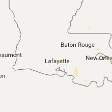 Regional Hail Map for Lafayette, LA - Saturday, August 19, 2017