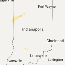 Regional Hail Map for Indianapolis, IN - Sunday, August 20, 2017