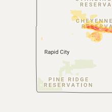 Regional Hail Map for Rapid City, SD - Sunday, August 20, 2017