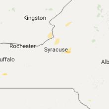 Regional Hail Map for Syracuse, NY - Tuesday, August 22, 2017