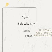 Regional Hail Map for Salt Lake City, UT - Wednesday, August 23, 2017