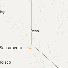 Regional Hail Map for Reno, NV - Tuesday, September 5, 2017
