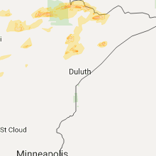 Hail Map for duluth-mn 2017-09-14