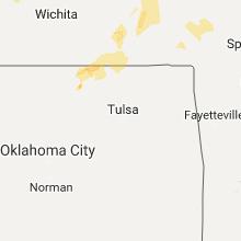 Hail Map for tulsa-ok 2017-09-16