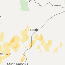 Hail Map for duluth-mn 2017-09-19