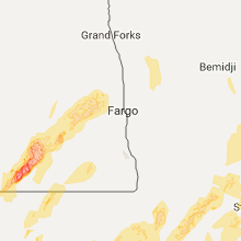 Hail Map for fargo-nd 2017-09-19