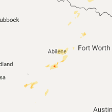 Regional Hail Map for Abilene, TX - Wednesday, September 20, 2017