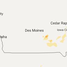 Regional Hail Map for Des Moines, IA - Wednesday, September 20, 2017