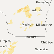 Hail Map for madison-wi 2017-09-20