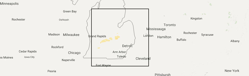 Interactive Hail Maps - Hail Map for Lansing, MI